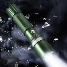 Hiking Outdoor Aluminum Alloy Flashlight High Bright Torch For Hunting Camping Emergency magnetic flashlight