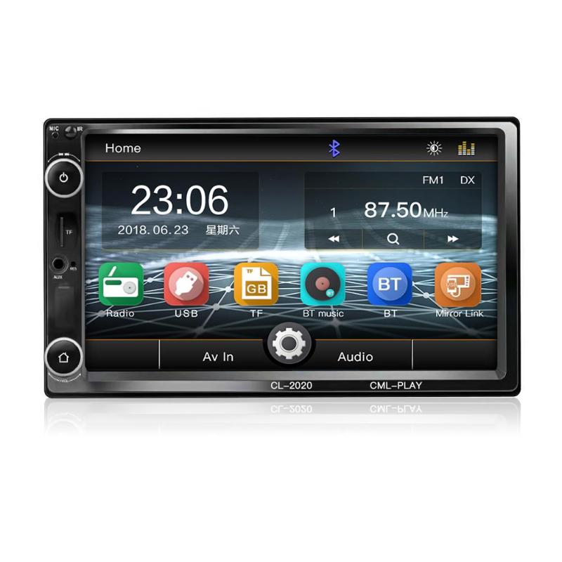 Car Radio Car Stereo 7inch 2 Universal Car MP5 Player Wifi Bluetooth USB Audio Din 1024*600 Android Navigation