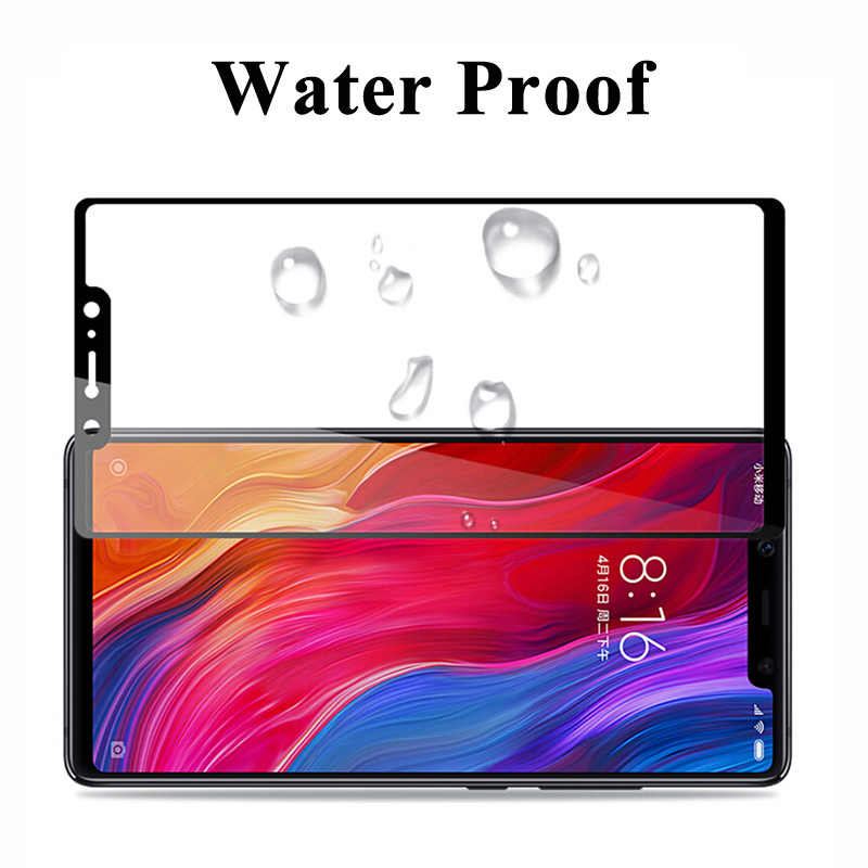 Image 5 - Protective Glass On The For Xiaomi Mi 8 Tempered Ksiomi Lite Screen Protector 8 Pro 8se Xiomi Xomi Xiami 8lite 8pro Armor Case-in Phone Screen Protectors from Cellphones & Telecommunications