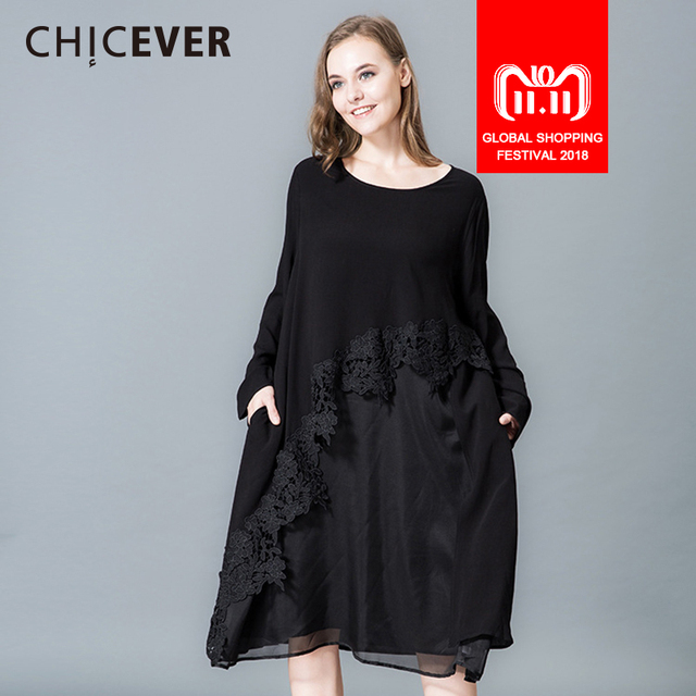 Big Loose Dress with Long Sleeves