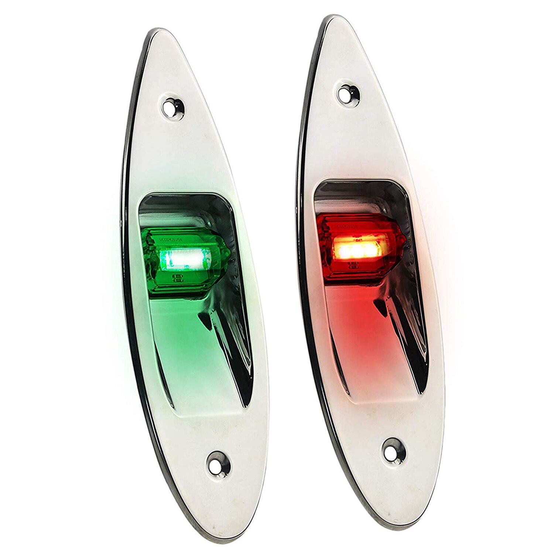 Flush Mount LED Navigation Side Lights|Path Lights| |  - title=