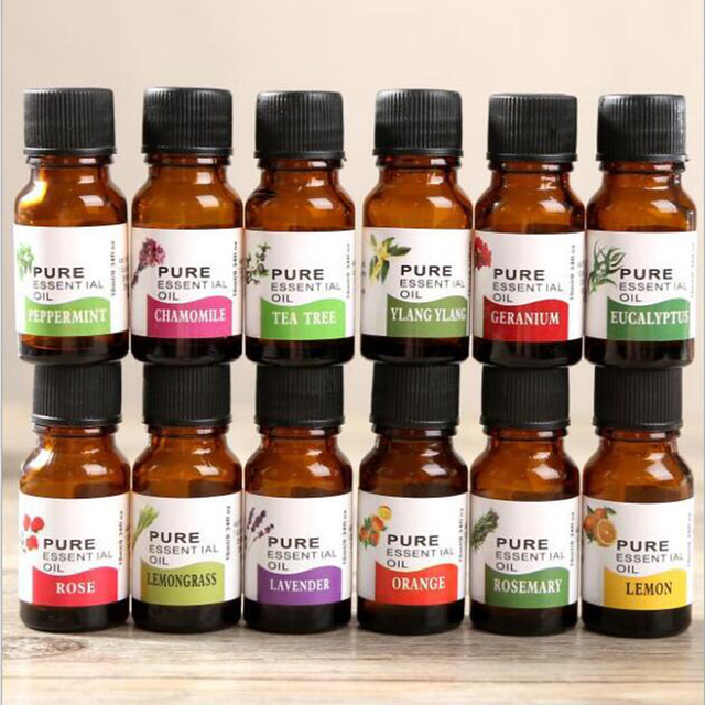 10ml Air Freshening Dropper Fragrance Aroma Humidifier Aromatherapy Essential Oil Flower Fruit Relieve Stress TSLM2 2