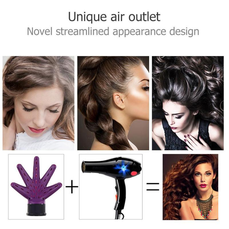 1PC New Hairdryer Diffuser Hand Diffuser Hair Dryer Hairdressing Salon Curly Hair Salon Style Tools Accessory Hairstyle