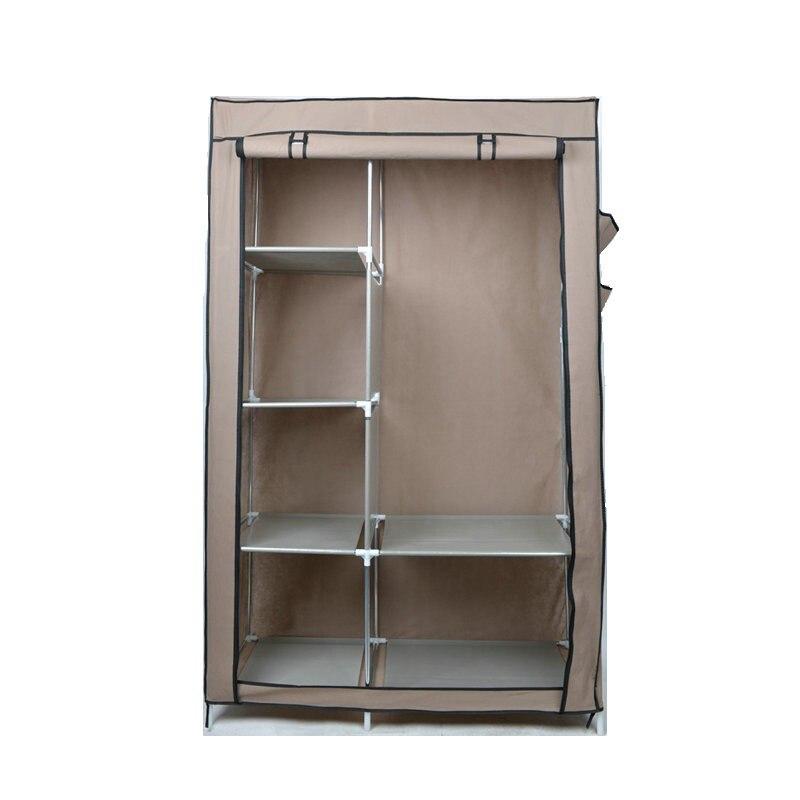 Multifunctio Simple DIY Wardrobe Folding Portable Clothes Closet Non-woven Fabric Cabinet Storage Organizer Home Furniture