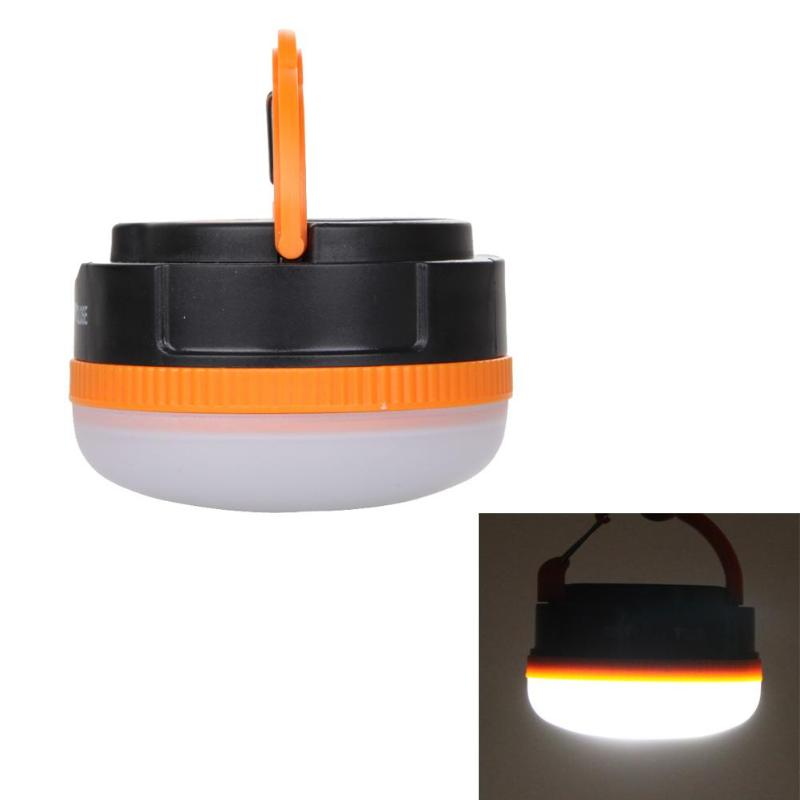 Mini Portable Camping Lights 3W LED Camping Lantern Waterproof Tents Lamp Outdoor Hiking Night Hanging Lamp EA14