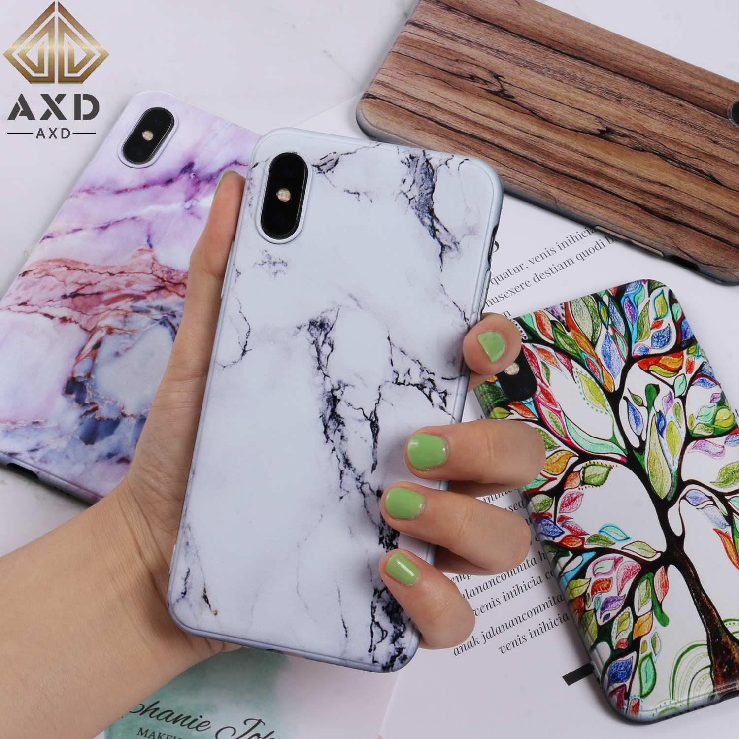 Silicone <font><b>case</b></font> for <font><b>Samsung</b></font> <font><b>Galaxy</b></font> A40 <font><b>A50</b></font> A70 protection soft shell painting cover fundas capa coque for A405 A505 A705 F/DS/U/N image