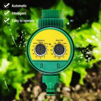Adeeing 2 Dial Automatic Electronic Water Timer Garden Watering Irrigation Controller 13*12*10CM|Garden Water Timers| |  -