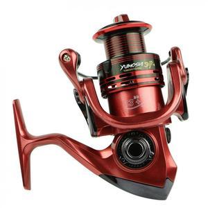 Image 5 - Спиннинговая катушка серии Yumoshi 7000 13 + 1 шарикоподшипники спиннинговая катушка супер сильная Рыболовная катушка 4,7: 1 спиннинговая катушка для рыбалки