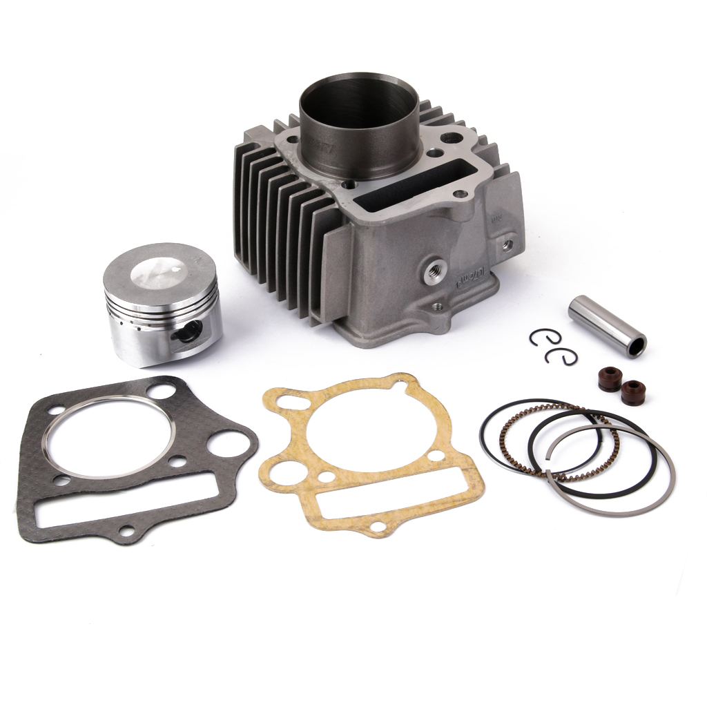 Dovewill <font><b>110CC</b></font> CYLINDER PISTON 52.4MM BARREL REBUILD KIT 110 <font><b>LIFAN</b></font> JUICEBOX Big Bore Cylinder Quad Rebuild kit image
