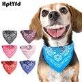 De moda de perro Bandana Collar gato bufanda corbata de cuero pañuelo pequeño perro, Collar perro grande, Collar personalizado Collar de accesorios para mascotas (7 color)