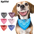 Fashion Dog Bandana Collar Cat Scarf Tie Leather Neckerchief for Small Large Dog Collar Custom Necklace Pet Accessories(7 Color)