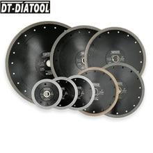 "DT DIATOOL 1pc Dia 4"" 12"" Super Thin Diamond Cutting Disc X Mesh Turbo Rim Segment Saw Blades for Ceramic Tile Porcelain"