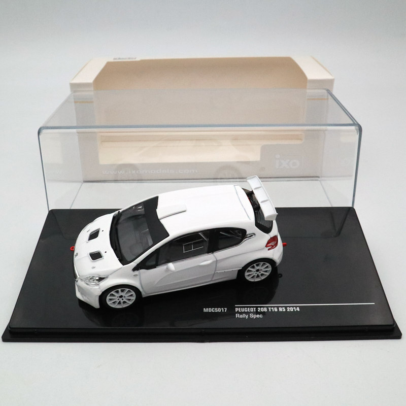 IXO <font><b>1</b></font>:<font><b>43</b></font> <font><b>Peugeot</b></font> 208 T16 R5 Rally Spec 2014 MDCS017 Diecast <font><b>Models</b></font> Limited Edition Collection Toys <font><b>Car</b></font> Diecast <font><b>Models</b></font> image
