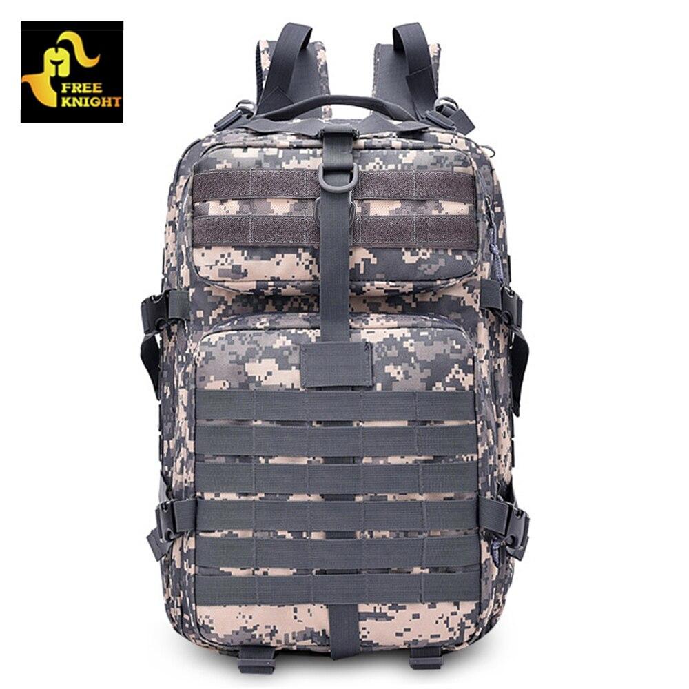 Chevalier gratuit 45L militaire tactique sac à dos Camping randonnée en plein air sac d'assaut Pack armée sac à dos
