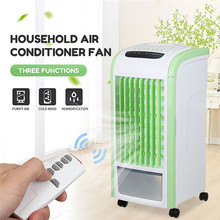 Home Mobile Air Conditioner Fan 3.5L Capacity Humidification Cooling Fan Evaporative Air Cooler Humidifier + Remote Controller