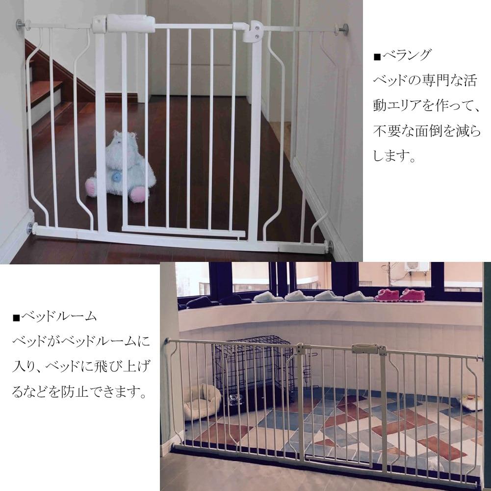 Liquidación venta bebé niños seguridad Metal caminar a través puerta Golden niños puertas seguras - 5