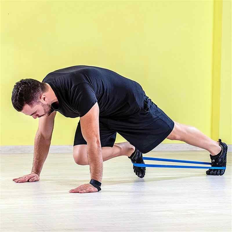 Sport joga zespoły oporu Fitness trening elastyczny pas napięcie Band trening siłowy pętle jogi zdrowia ćwiczenia Pull pasek pas