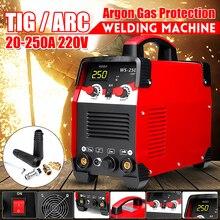 220 В 7700 Вт 2IN1 IGBT STICK инвертор TIG/ARC Электрический сварочный аппарат 20-250A MMA для сварки рабочих и электрических рабочих