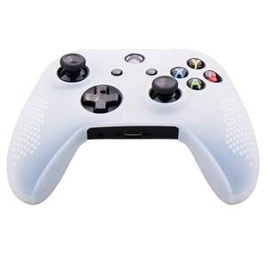 Image 5 - סיליקון גומי כיסוי עור מקרה אנטי להחליק עבור Xbox אחד/S/X בקר X 2 (שחור & לבן) + Fps פרו נוסף גובה אגודל כידון X