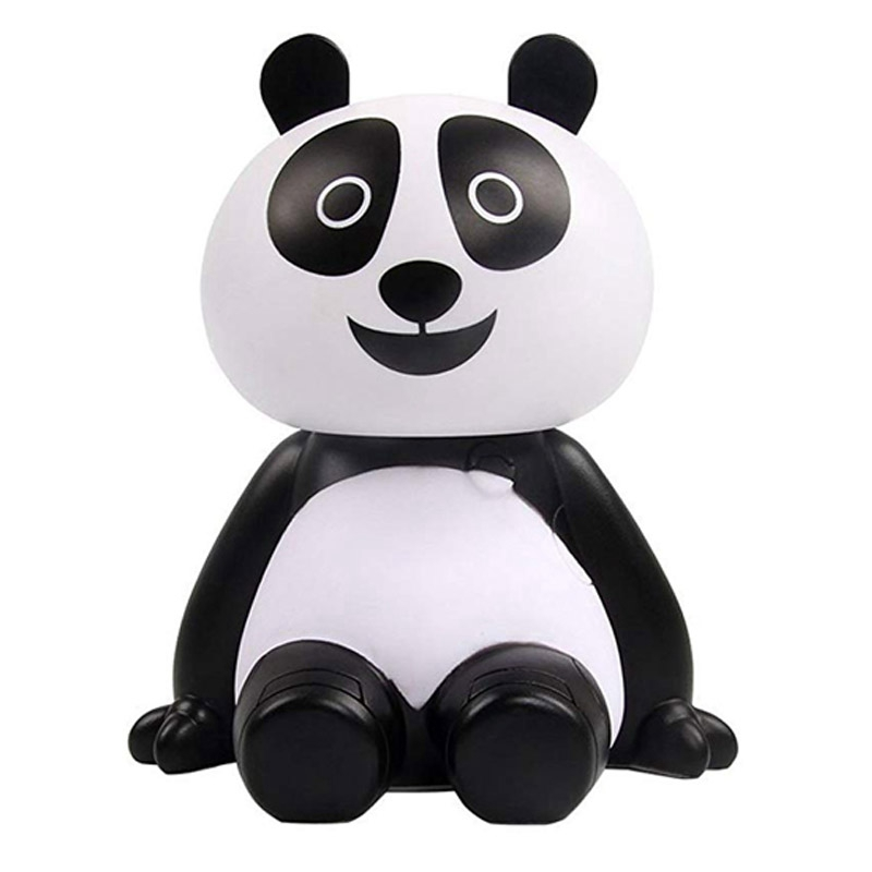 Ultrasonic Humidifier Cute Mini Panda Usb Air Humidifier Essential Oil Diffuser Aroma Cool Mist Home Office Bedroom Living Roo