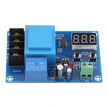 220 В свинцово-кислотный литиевый контроллер зарядки аккумулятора модуль переключатель доска инструмент профессиональный