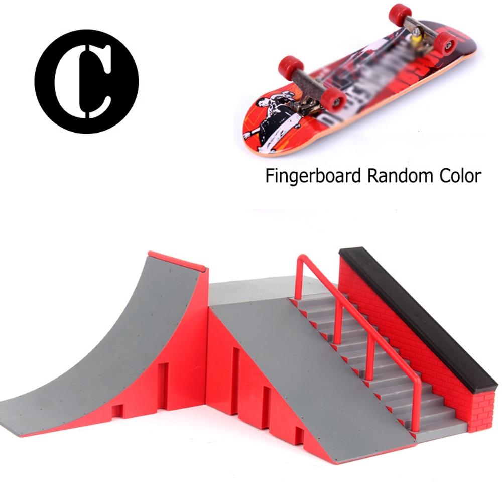Skate Park Ramp Parts for Tech Deck Fingerboard Finger Board Ultimate Parks New