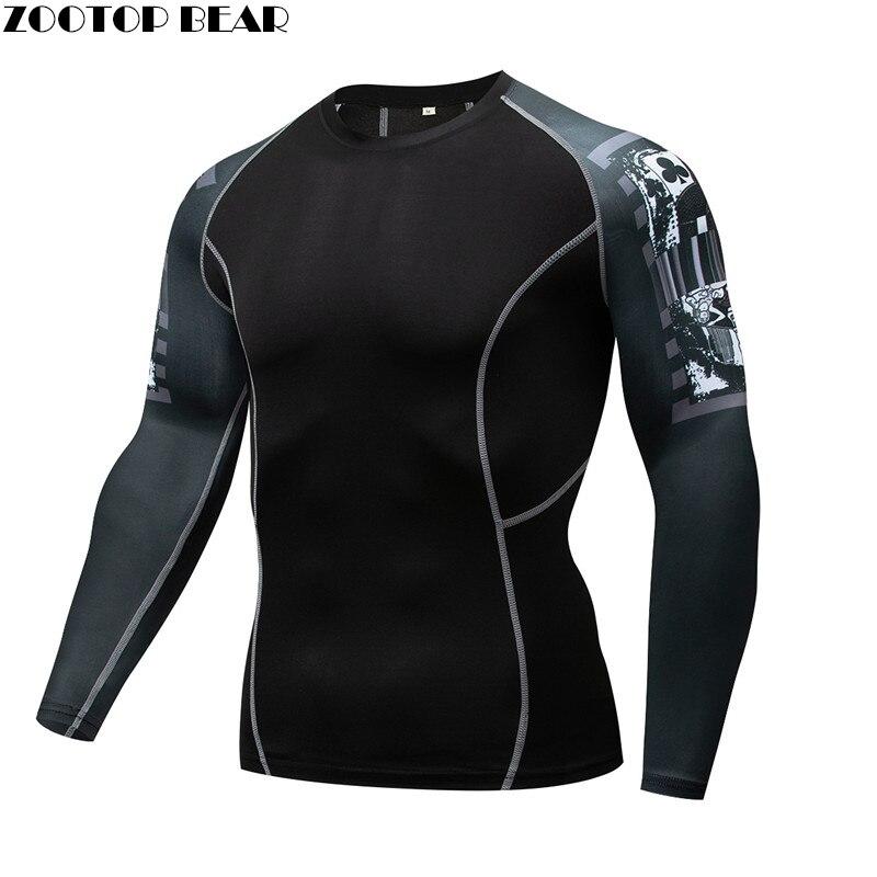 Clown Mma Compression Shirt Men Rash Guard Fitness Shirt Quick Dry Elastic Base Layer Skin Tight Weight Lifting Crossfit Top Tee