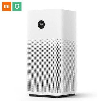 Xiaomi Mi Воздухоочистители воздуха 2 S стерилизатор дополнение к формальдегида очистки воздуха умный бытовой Hepa фильтр Smart APP