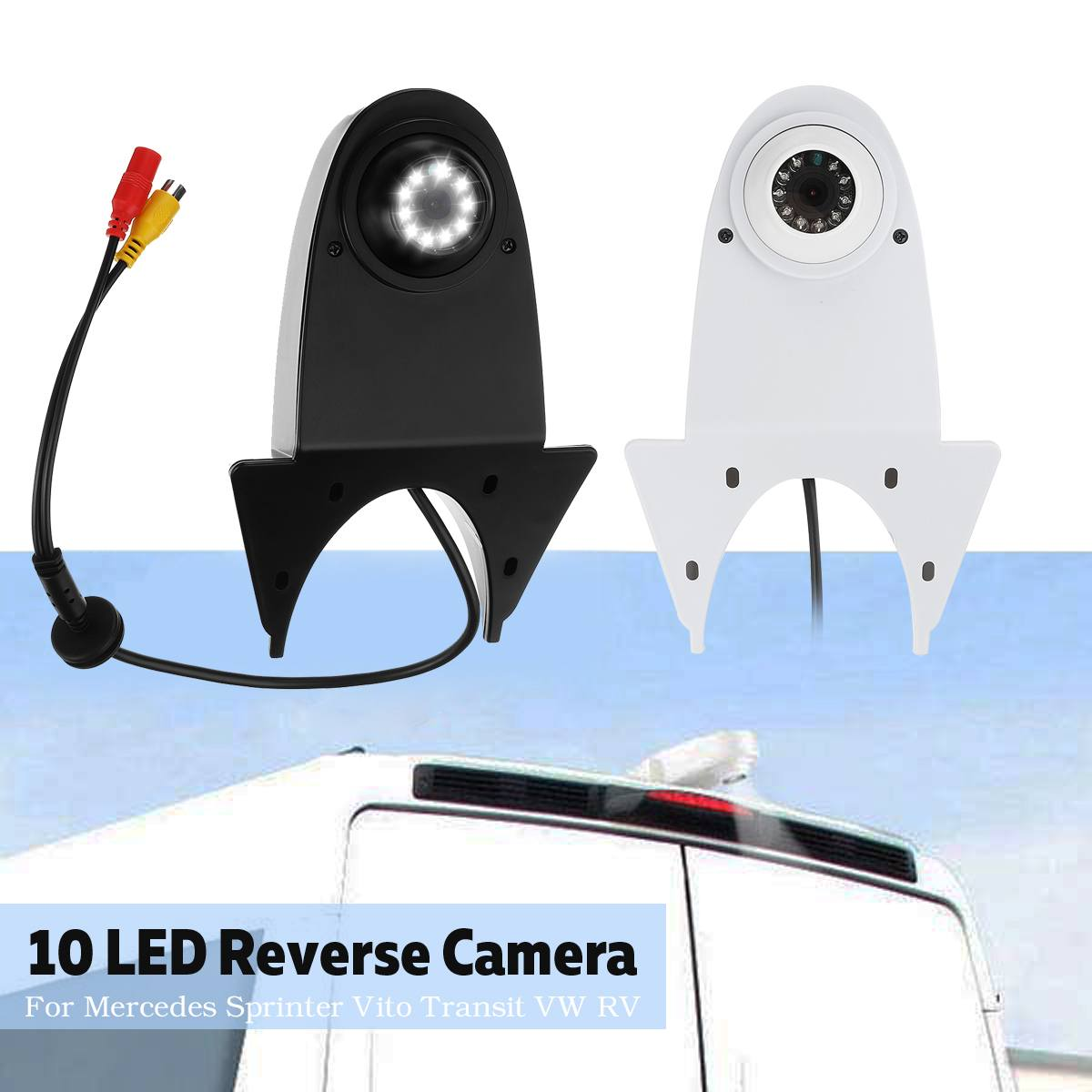 Reversing Vehicle-Specific Camera Integrated in Number Plate Light License Rear View Backup Camera for Mercedes Benz C Class W204 C180 C200 C280 C300 C350 C63 AMG 2007-2014 E-Class W212 2009-2015