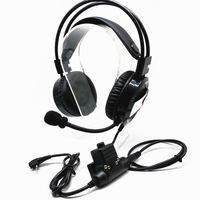 Medium Walkie Talkie Headphone Noise Cancelling Headset for Motorola EP450 GP300 GP88 CP040 GP68 GP2000 GP308 CP200