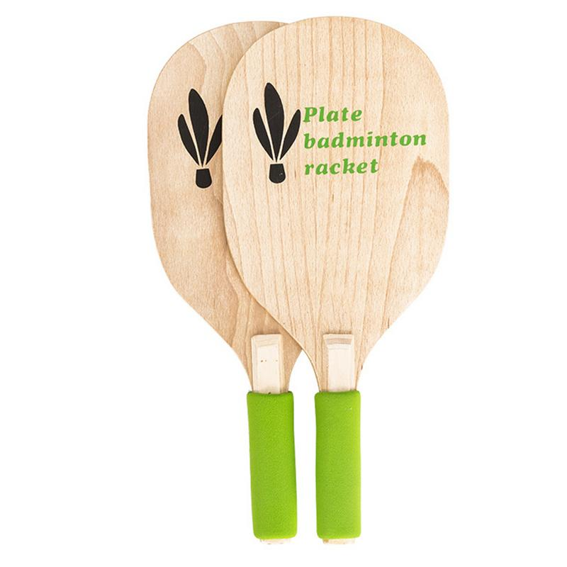 Beach Paddle Ball Game Set Beach Paddle Badminton Racket Indoor And Outdoor Badminton Game For Children Teenagers Adults