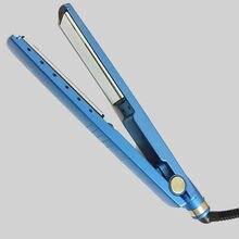 3f7a3674f Frete grátis professional 11/4 nano titanium elétrica 450 graus alisadores  de cabelo chapinha