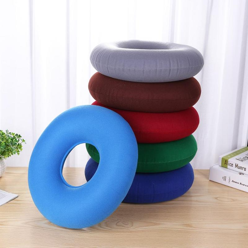 Inflatable Seat Cushion >> Us 3 39 14 Off New 6 Colors Inflatable Seat Cushion Circular Massage Anti Bedsore Pad Chair Mat Ring Elastic Durable Hip Support Pillow In Braces