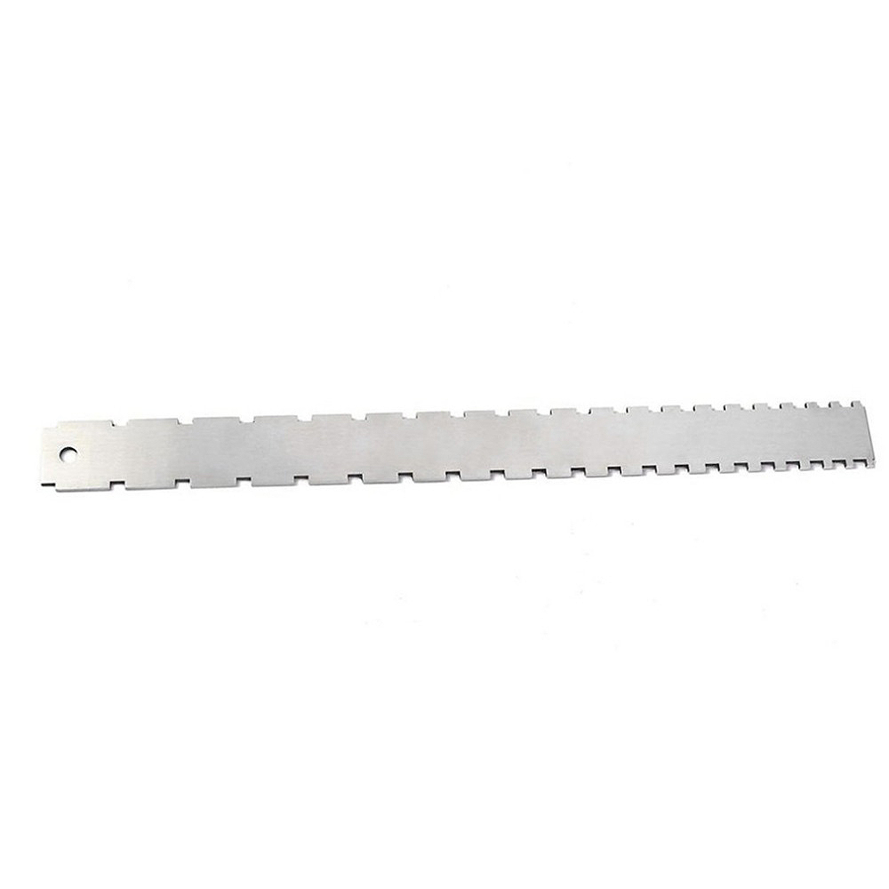 Bmdt-stainless Steel Guitar Straight Edge Measure Tool For Electric Guitars Neck Notched Fretboard And Frets Fingerboard Musical Instruments