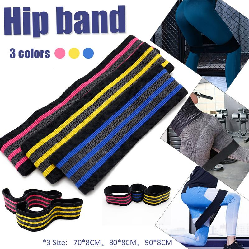 Non Slip Unisex Booty Hip Band Circle Loop Resistance Band