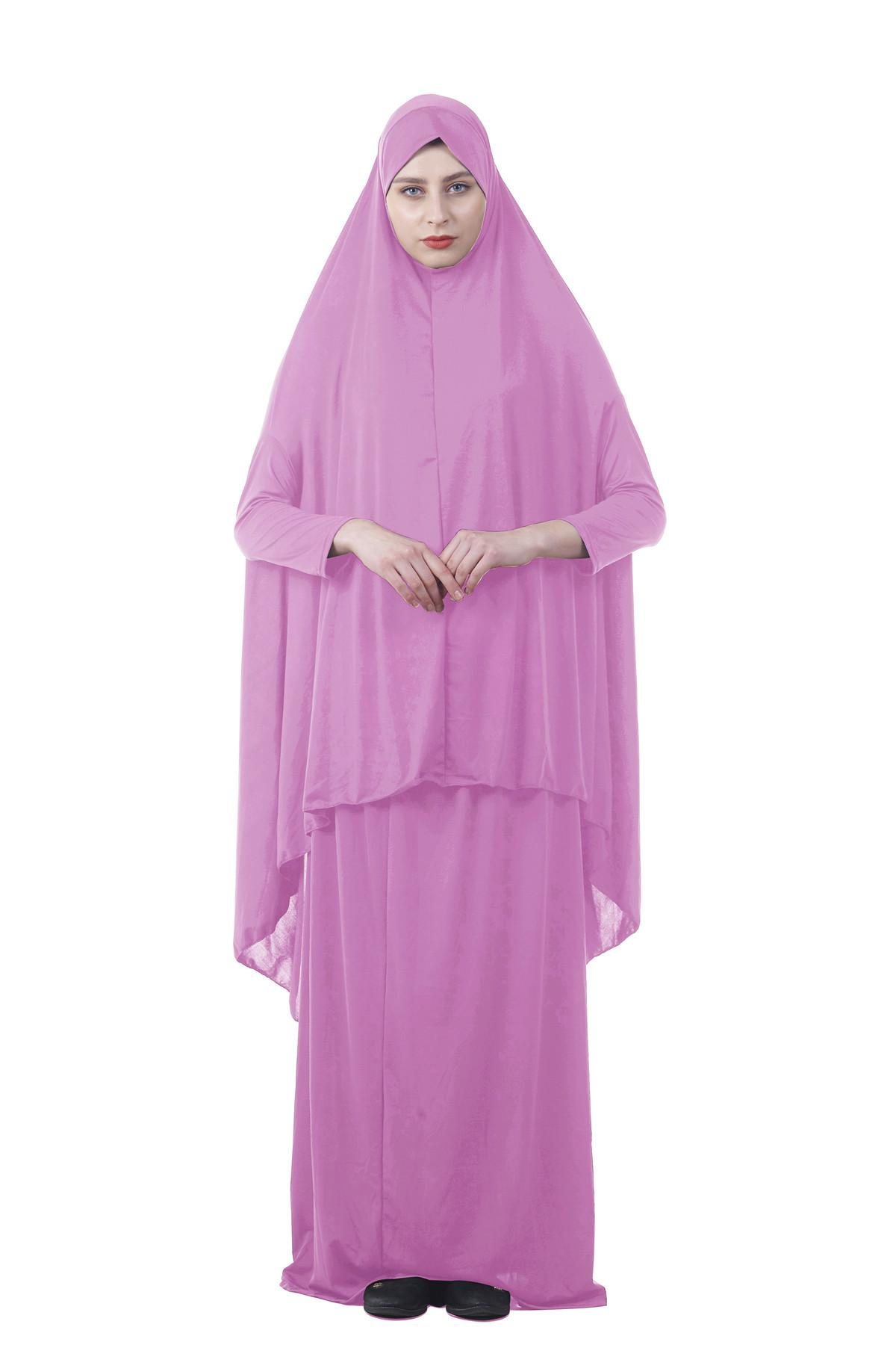 c490bef2e91c Formal Muslim Prayer Garment Sets Hijab Dress Abaya Afghanistan Islamic  Clothing Namaz Long Prayer Hijab Moslim Jurken Abayas ~ Hot Sale June 2019