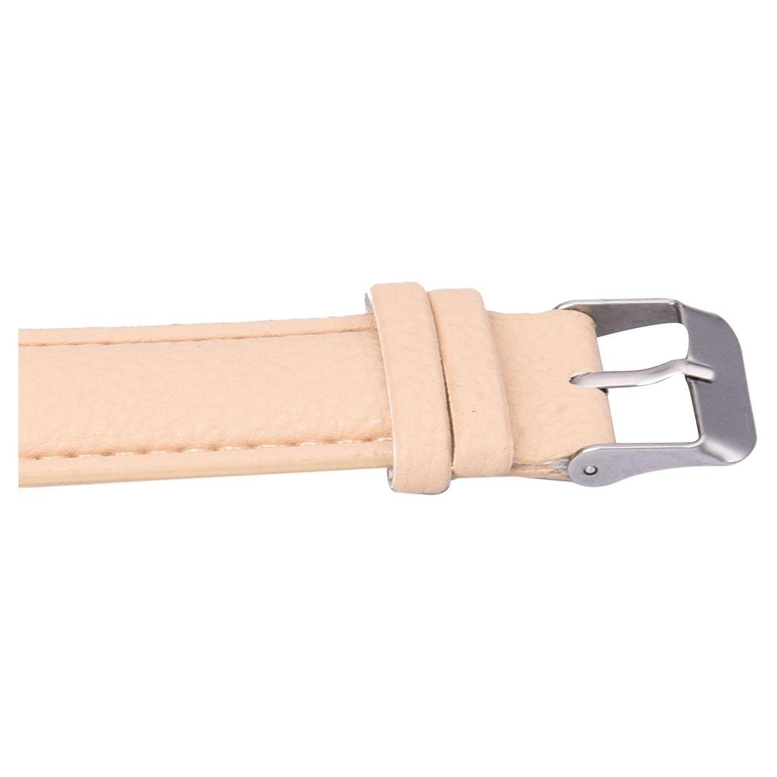 neutral Plum flower Deer Leather belt Quartz watch 5