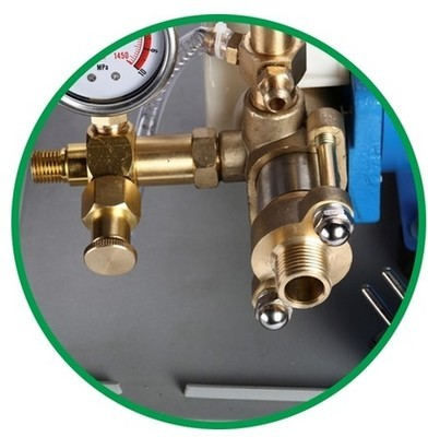 Portable High Pressure Testing Machine Pump DSY 25 head