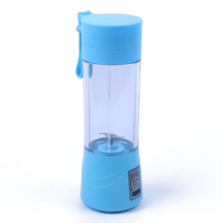 380 Ml recargable USB exprimidor de la taza de la botella de jugo de cítricos licuadora limón fruta batido exprimidores escariadores Bott