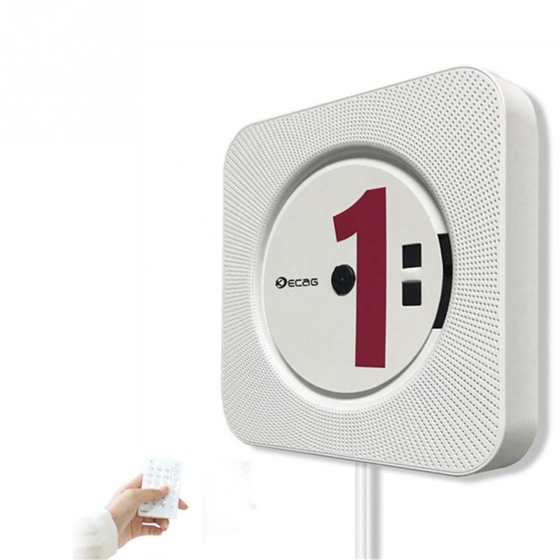 Lecteur CD mural lecteur DVD Bluetooth Audio maison Boombox HD vidéo FM Radio haut-parleurs HiFi intégrés avec télécommande #5