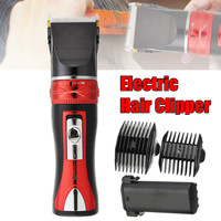 Mens Electric Clipper Hair Silence Beard Body Trimmer Shaver Haircut Machine