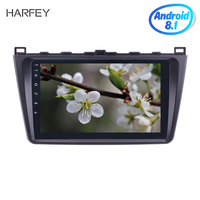 Harfey 2DIN 9 Inch Android 8.1 Car Radio For Mazda 6 Rui wing 2008 2014 Multimedia Player GPS Navigation Head Unit
