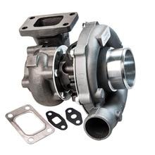 Универсальное турбо зарядное устройство T3 T4 T04E .63 A/R для 1.6L 2.5L 3.2L 5.0L 400HP для Civic CRX 88 91 D16 D16 Y7 D16Y зарядное устройство