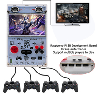 5.0 Inch HD IPS Screen Video Game Console With Upgrade Raspberry Pi Retro Handheld Game Player Support 4 Player To Play