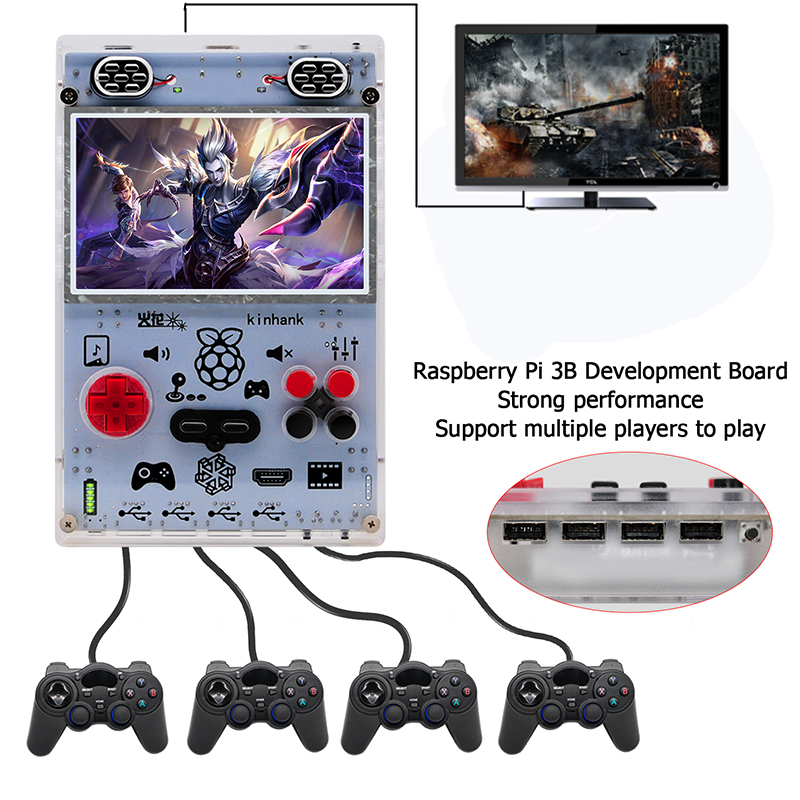 All kinds of cheap motor raspberry pi game console in All B