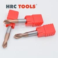 Q13 20Dx90ax100L CNC Tungsten Steel chamfer end mill HRC55 2 Flute Engraving Bit