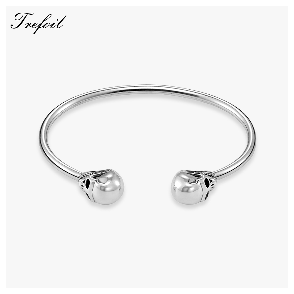 Bracelets Bangles Skull Skeleton  Fashion Jewelry Punk Trendy Wrap Geometric Bracelet Gift For Women and Men 2018 New|Wrap Bracelets| |  - title=