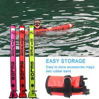Innovative Scuba Concepts Signal Tube Submersible Marker Buoy with D Ring