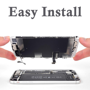 Image 4 - Full Complete LCD For iPhone 6 6S LCD Display Touch Screen Digitizer Assembly Replacement Home button+Front Camera No Dead Pixel