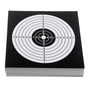 100Pcs 14cm Thick Card Targets